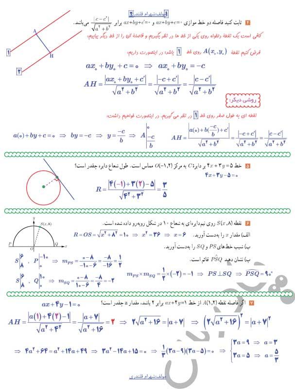 حل تمرین4تا7 صفحه38 حسابان یازدهم