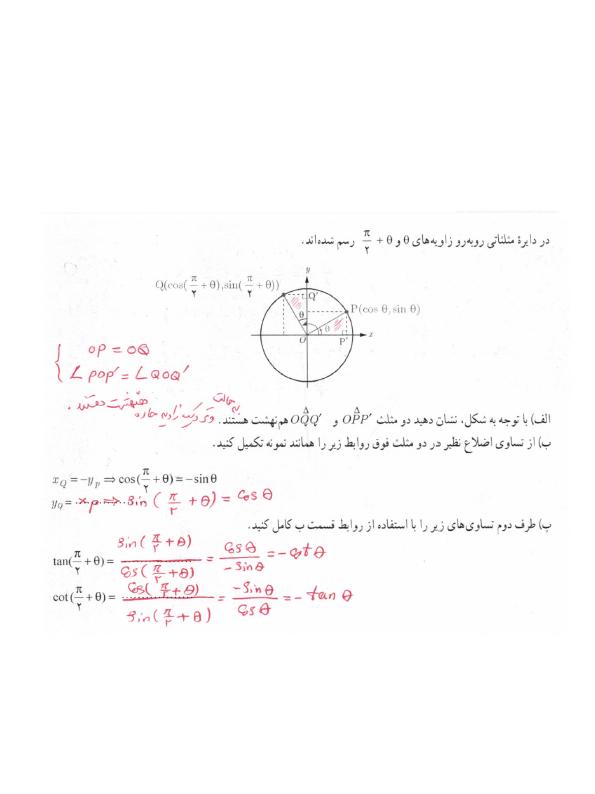 پاسخ فعالیت صفحه 103 حسابان یازدهم