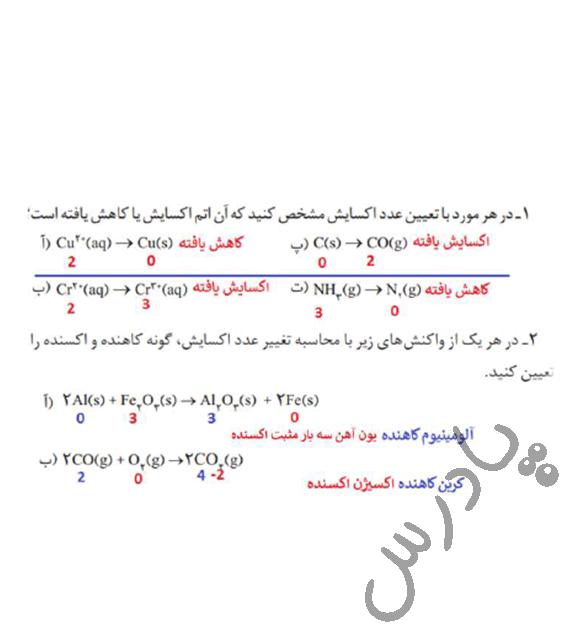 جواب خودرابیازمایید صفحه 53 شیمی دوازدهم