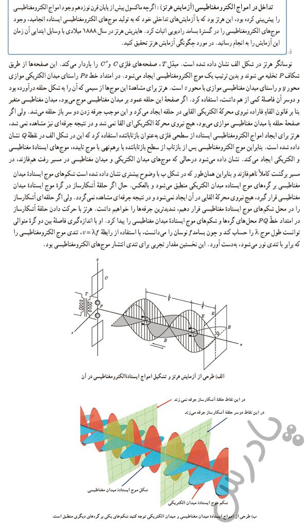 پاسخ فعالیت 7 فصل 4 فیزیک دوازدهم