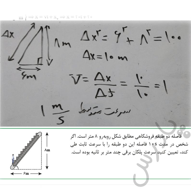 حل تمرین صفحه 38 فیزیک هنرستان