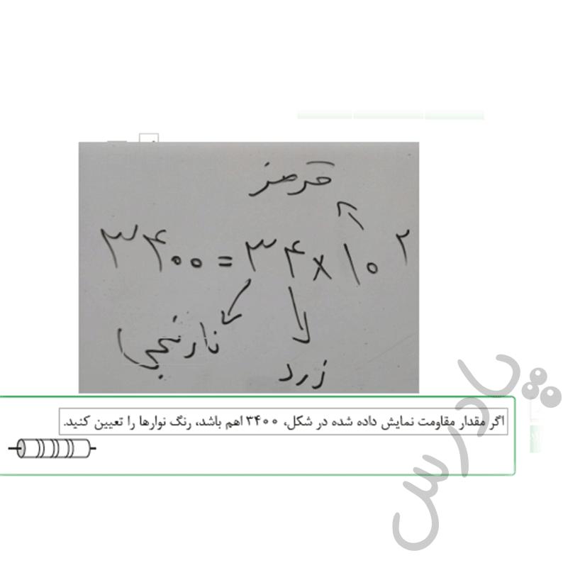 حل تمرین صفحه 103 فیزیک هنرستان